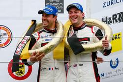 Podium: 3. Nick Tandy, Frédéric Makowieck, Porsche Team
