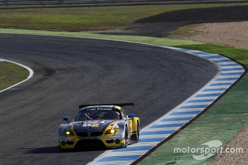 #52 BMW Team Marc VDS BMW Z4: Енді Пріоль, Henry Hassid, Jesse Krohn