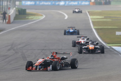 Julio Moreno, ThreeBond with T-Sport, Dallara NBE; Matt Solomon, Double R Racing, Dallara Mercedes-Benz