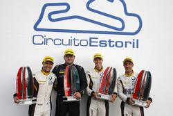 GTC class winners Andy Priaulx, Henry Hassid, Jesse Krohn, BMW Team Marc VDS
