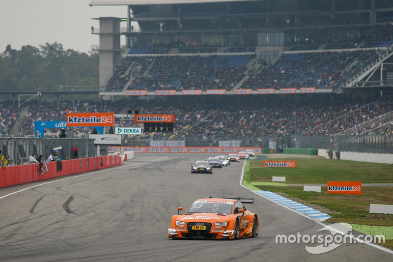 Jamie Green, Audi Sport Team Rosberg Audi RS 5 DTM leads