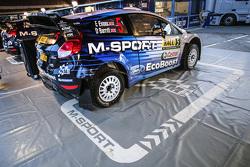 Zone de l'équipe M-Sport Ford