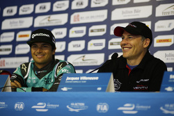 Nelson Piquet Jr., NEXTEV TCR Formula E Team and Jacques Villeneuve, Venturi