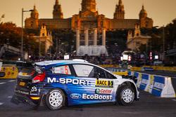 埃尔芬·埃文斯,丹尼尔·巴里特,M-Sport车队福特Fiesta WRC