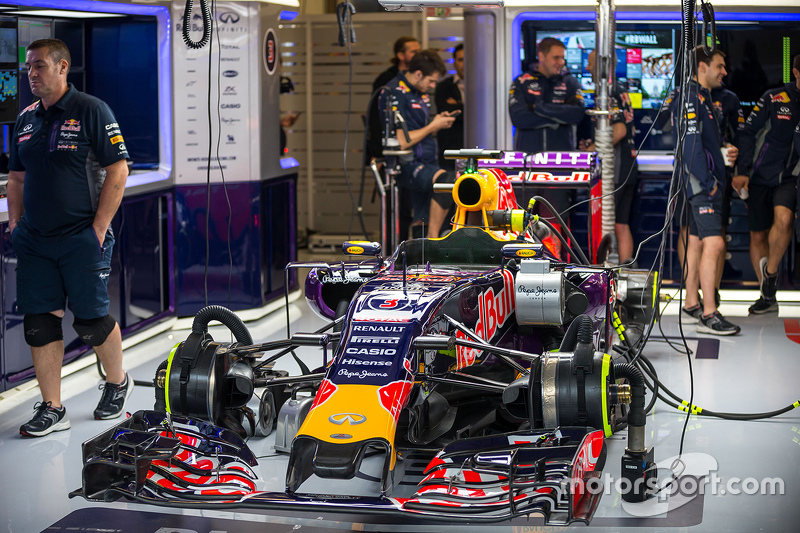 Red Bull Racing RB11 of Daniel Ricciardo, Red Bull Racing