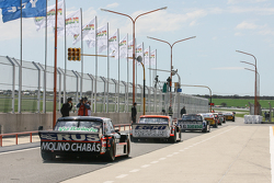 Emanuel Moriatis, Alifraco Sport Ford, Mariano Werner, Werner Competicion Ford, Gabriel Ponce de Leon, Ponce de Leon Competicion Ford