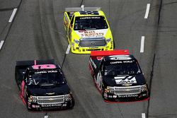 Cole Custer, Jr Motorsports Chevrolet e Brandon Hightower e Matt Crafton, Thorsport Racing Toyota