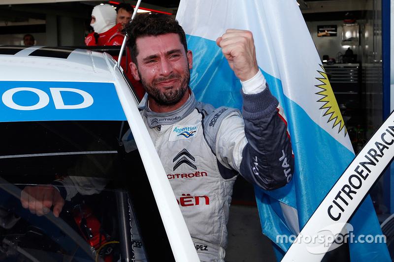 WTCC - Le Champion du Monde 2015 Jose Maria Lopez, Citroën C-Elysée WTCC, Citroën World Touring Car team