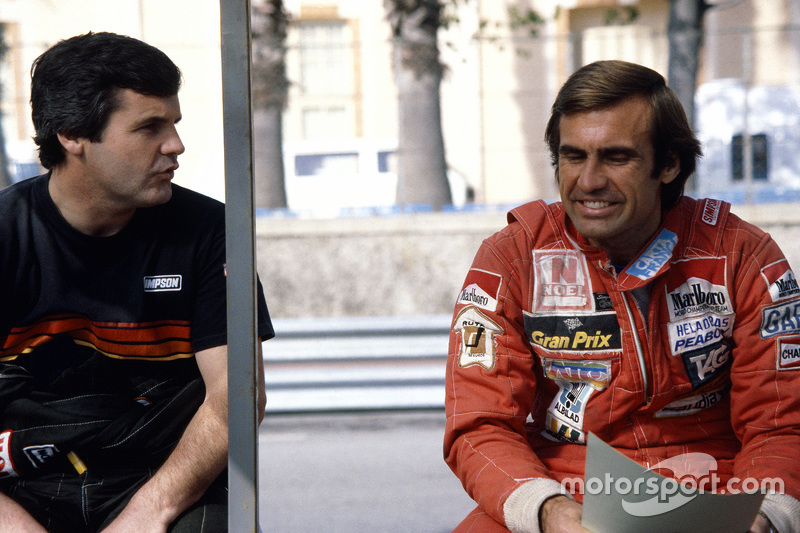 Alan Jones y Carlos Reutemann, Williams