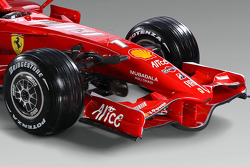 Detail of the new Ferrari F2008