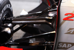 detay, yeni McLaren Mercedes MP4-23