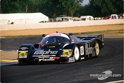 #6 Brun Motorsport Porsche 962 C: Mauricio Sandro Sala, Roland Ratzenberger, Walter Lechner