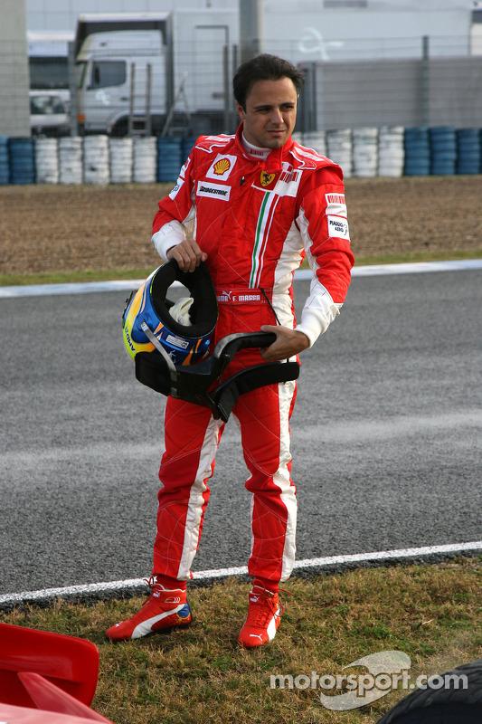 Felipe Massa, Scuderia Ferrari, F2008, stops on circuit