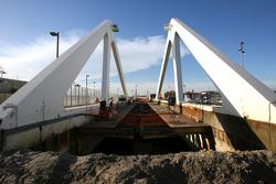 Work on Progress, second bridge of the track