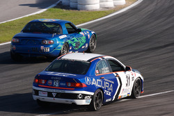 #146 Performance Autosport Mazda MX-5: Tom Long, Rhett O'Doski, #31 i-MOTO Racing Acura TSX: Glenn Bocchino, Nick Wittmer