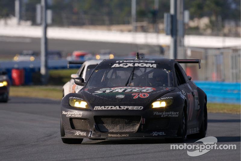 #70 SpeedSource Mazda RX-8: Nick Ham, David Haskell, Raphael Matos, Sylvain Tremblay