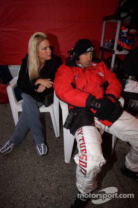 Bill Auberlen et sa femme
