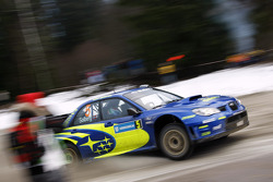 Petter Solberg and Phil Mills