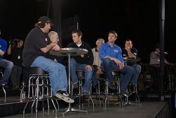 Tony Stewart, Mark Martin, Kasey Kahne, Carl Edwards and Ryan Newman