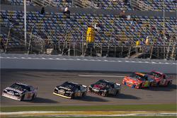 Dale Earnhardt Jr. leads Mark Martin