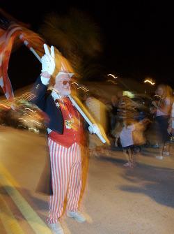 Mardi Gras celebrations in nearby New Smyrna Beach