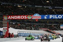 Sprint Cars on the grid