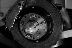 Disc brake detail of the Texaco / Havoline Dodge