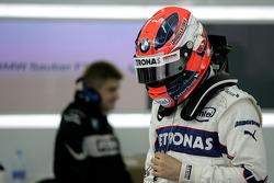 Robert Kubica, BMW Sauber F1 Team, Pitlane, Box, Garage