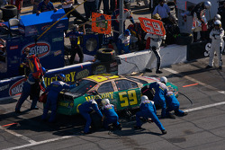 Pit stop for Marcos Ambrose