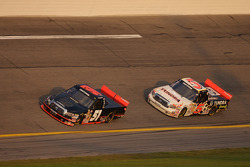 Kyle Busch and Mike Skinner