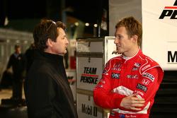 Ryan Briscoe and Scott Goodyear