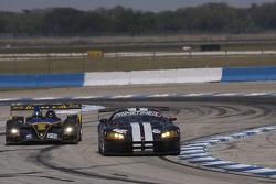 #11 Primetime Race Group Dodge Viper Competition Coupe: Joel Feinberg, Chris Hall, #26 Andretti Green Racing Acura ARX-01b Acura: Bryan Herta, Christian Fittipaldi, Marco Andretti