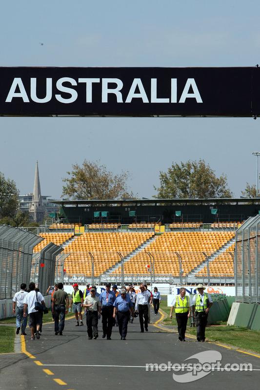 L'atmosphère dans les stands