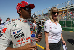 Lewis Hamilton, McLaren Mercedes at