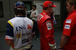 Fernando Alonso, Renault F1 Team, Kimi Raikkonen, Scuderia Ferrari  / Drivers group picture 2008
