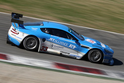 #33 Jet Alliance Racing Aston Martin DBR9: Karl Wendlinger, Ryan Sharp, Lukas Lichtner Hoyer