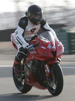Paul Gaillard, Honda CBR 600