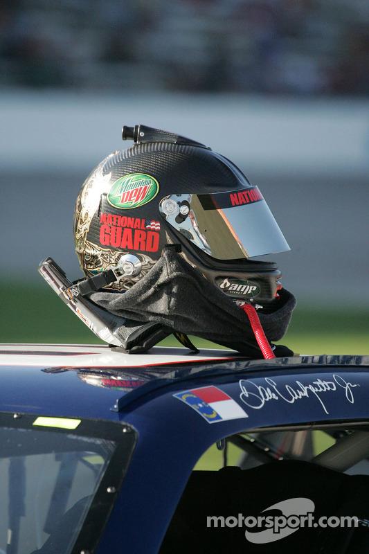 Dale Earnhardt Jr.'s helmet at Texas