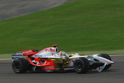 Адриан Сутиль, Force India F1 Team, VJM-01 с поврежденным передним антикрылом