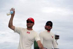 Townsend Bell and A.J. Foyt IV