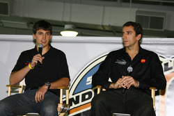 Newman/Haas/Lanigan drivers Graham Rahal and Justin Wilson