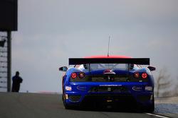 GT3 CR Scuderia Ferrari 430  aproaching Carlube