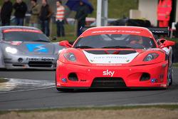 Ferrari leading Ascari