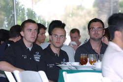 Frankie Muniz, Carl Skerlong and Alex Figge