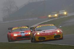 #78 BMS Scuderia Italia Ferrari 430 GT2: Joel Camathias, Davide Rigon