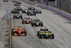 Champ Car race start