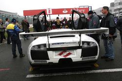 #8 IPB Spartak Reiter Engineering Lamborghini Murcielago: Peter Kox, Roman Rusinov