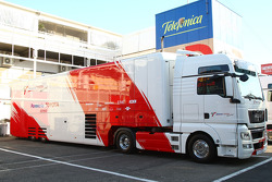Toyota Racing truck