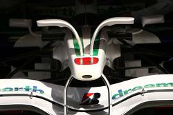 Honda RA108 front wing