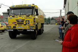 Tatra Team: team Loprais leaves for the Central Europe Rally